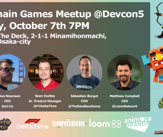 Blockchain Games Meetup @ Devcon5