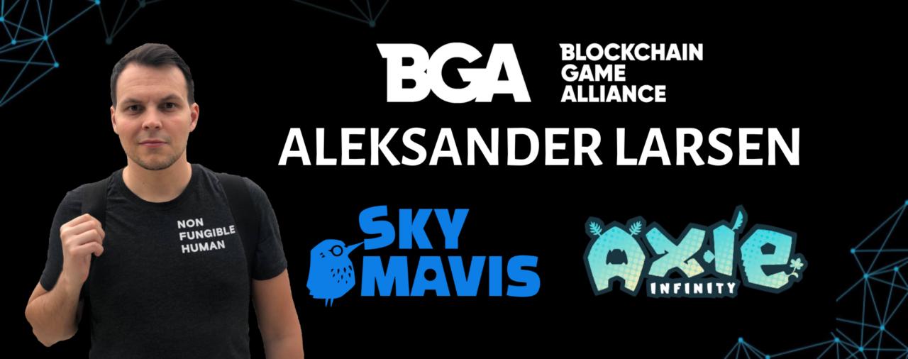Blockchain GameAlliance welcomes new Secretary, Aleksander Larsen