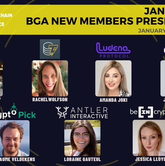 BGA January 2021 New Members Presentation